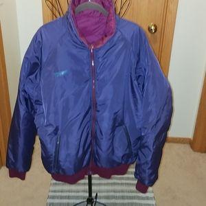 Columbia reversible purple&burgundy mens jacket XL